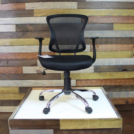 Mesh Mid Back Chair Black