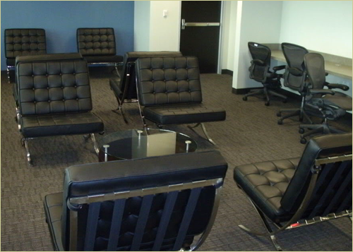 Lobby furniture for Conference table 1998 99